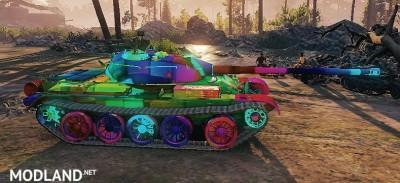 T-54 Skin 1.0.2.4++ [1.0.2.4], 3 photo